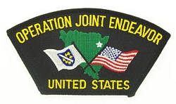 Operation Joint Endeavor Patches